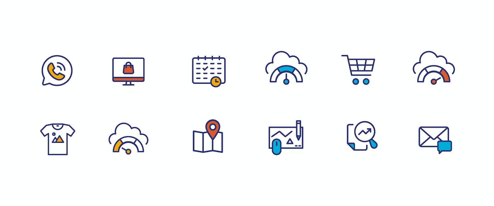 BSN 00 X IDE bml Case Study Icons
