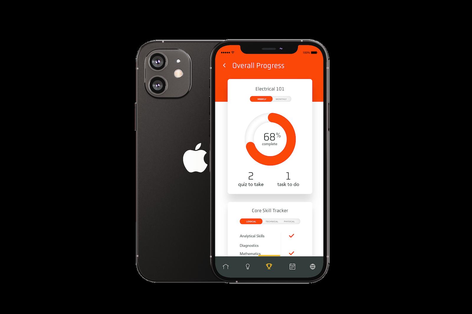 CAP ECMC i Phone12 Mockup A 1