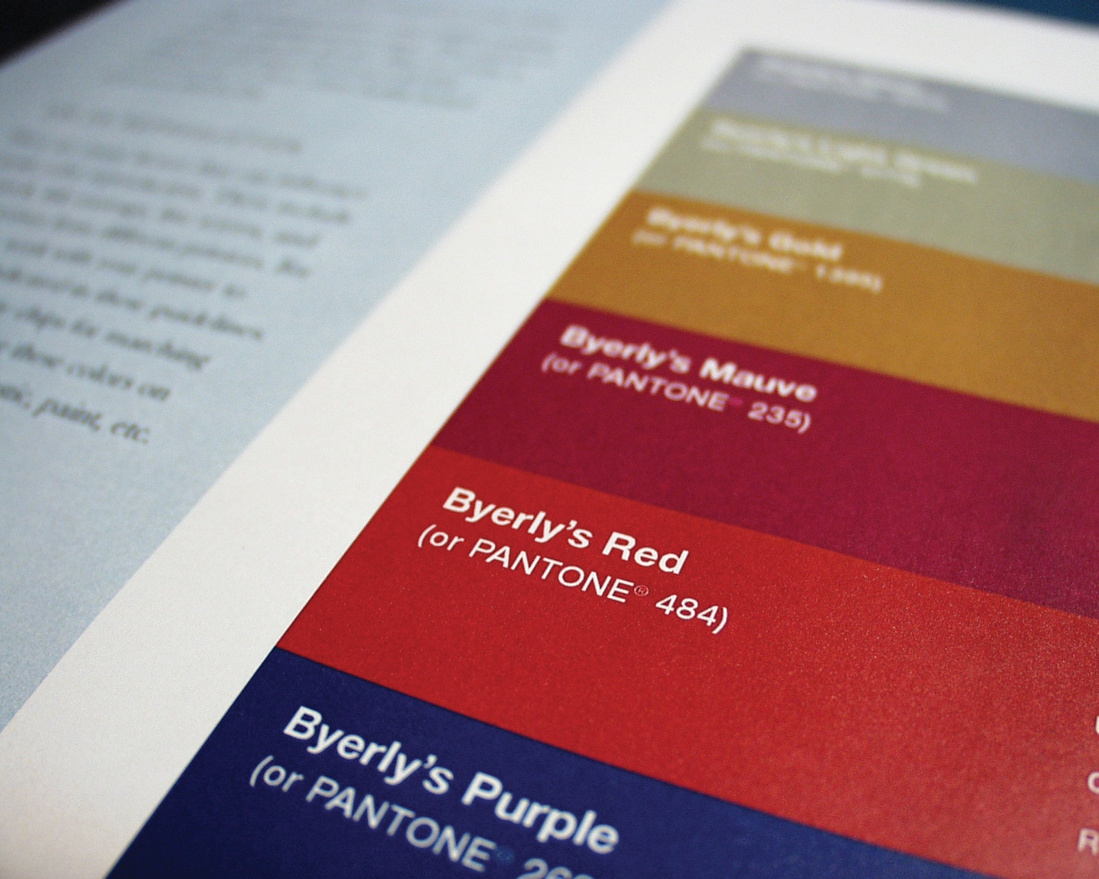 Byerlys Stand Swatch
