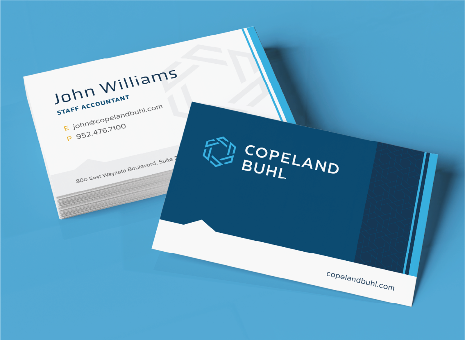 Copland Buhl Business Cards