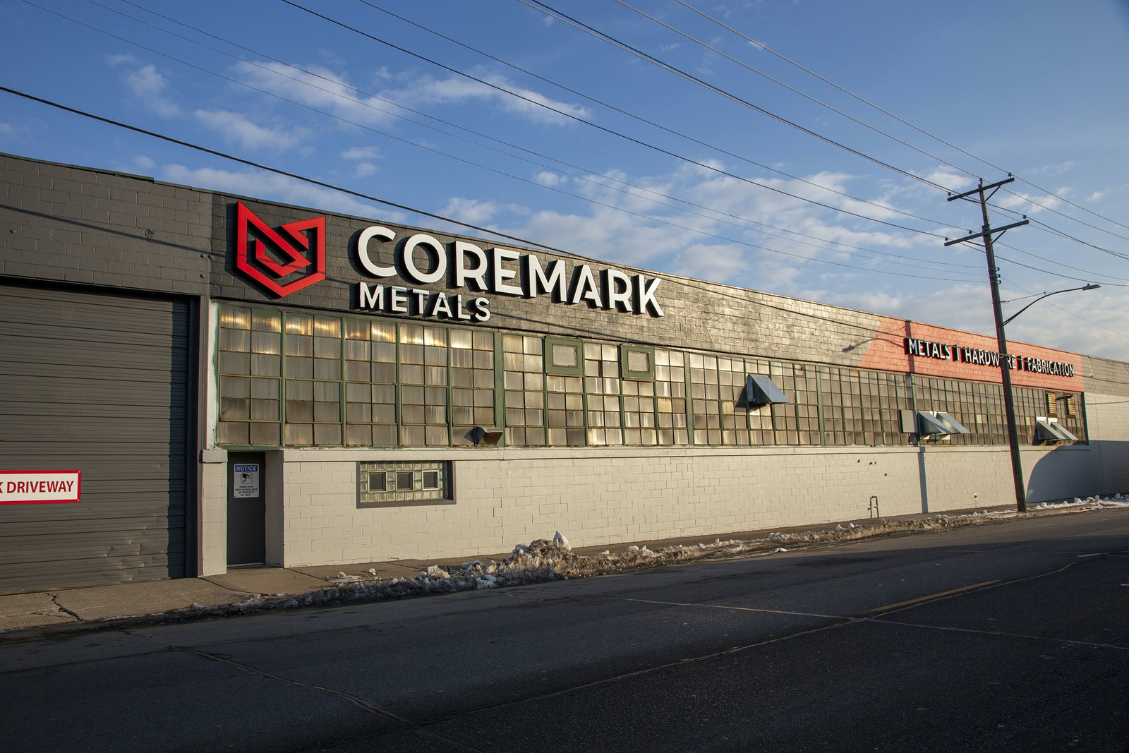 Coremark Building Sign C