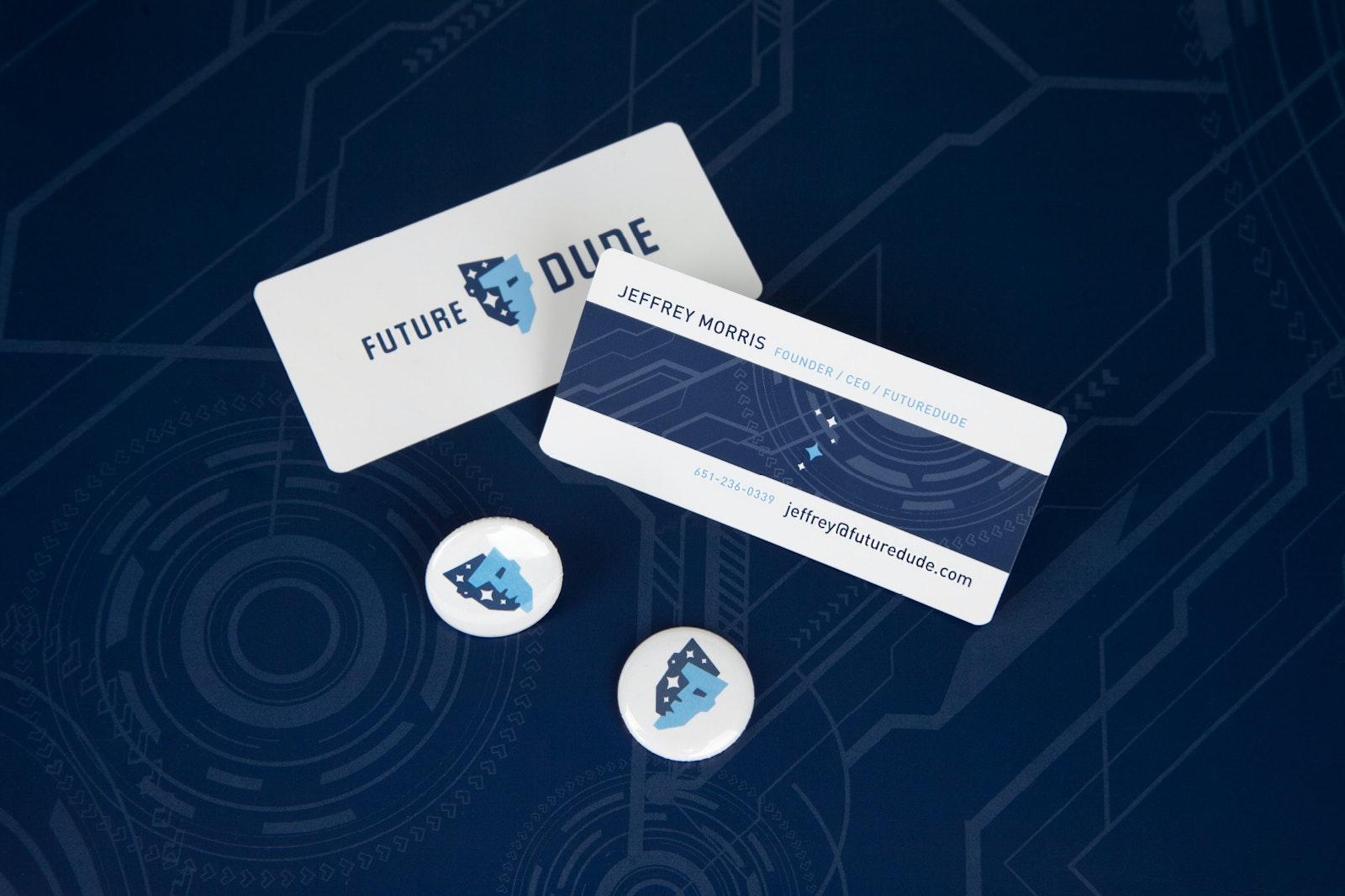 Future Dude Bus Card