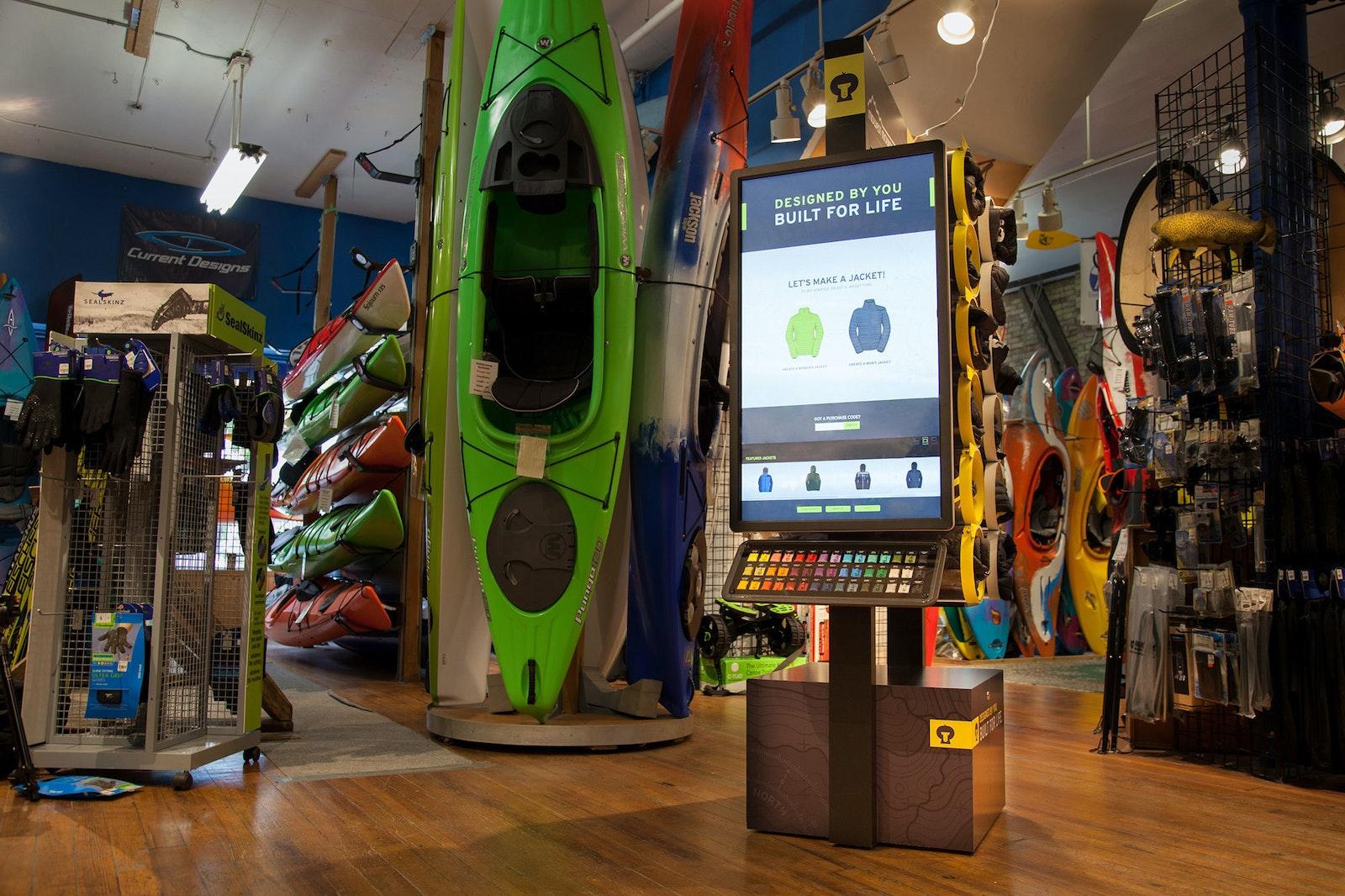 Hexa Display Store A