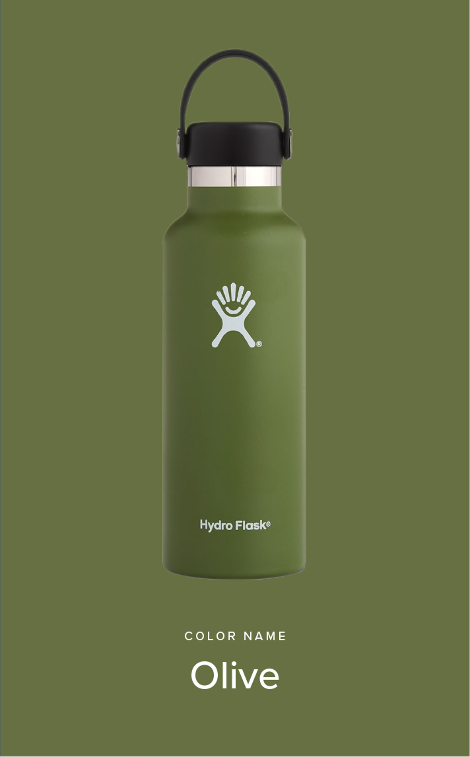 Hyidroflask Olive