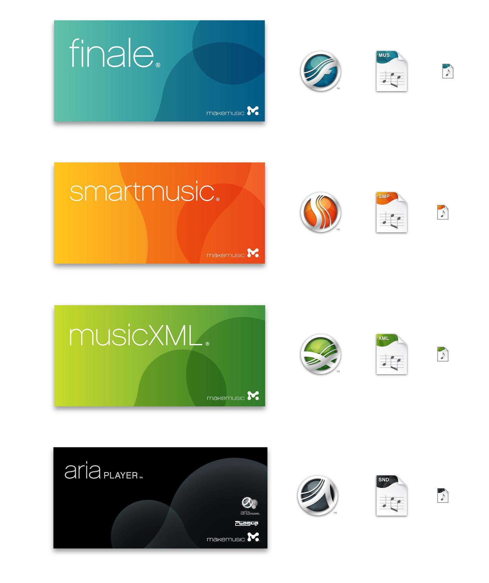 Make Music icons A