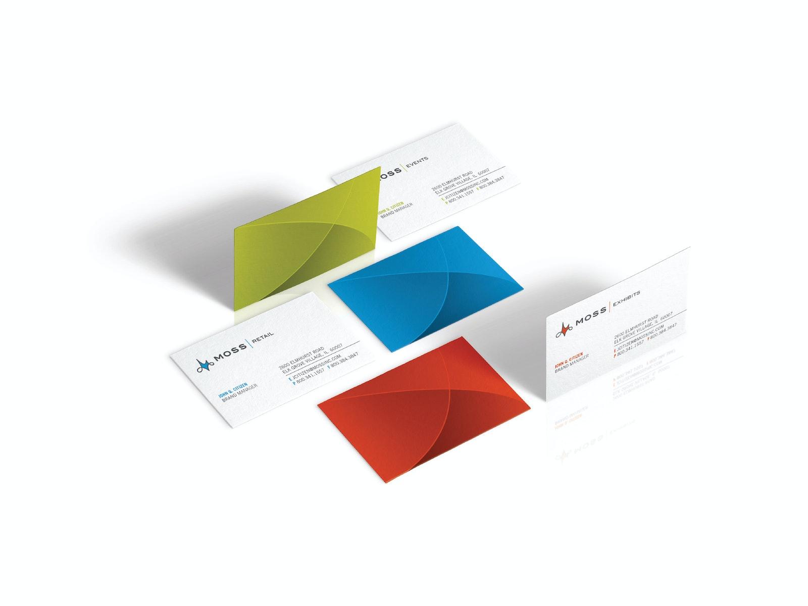 Moss Bus Cards A