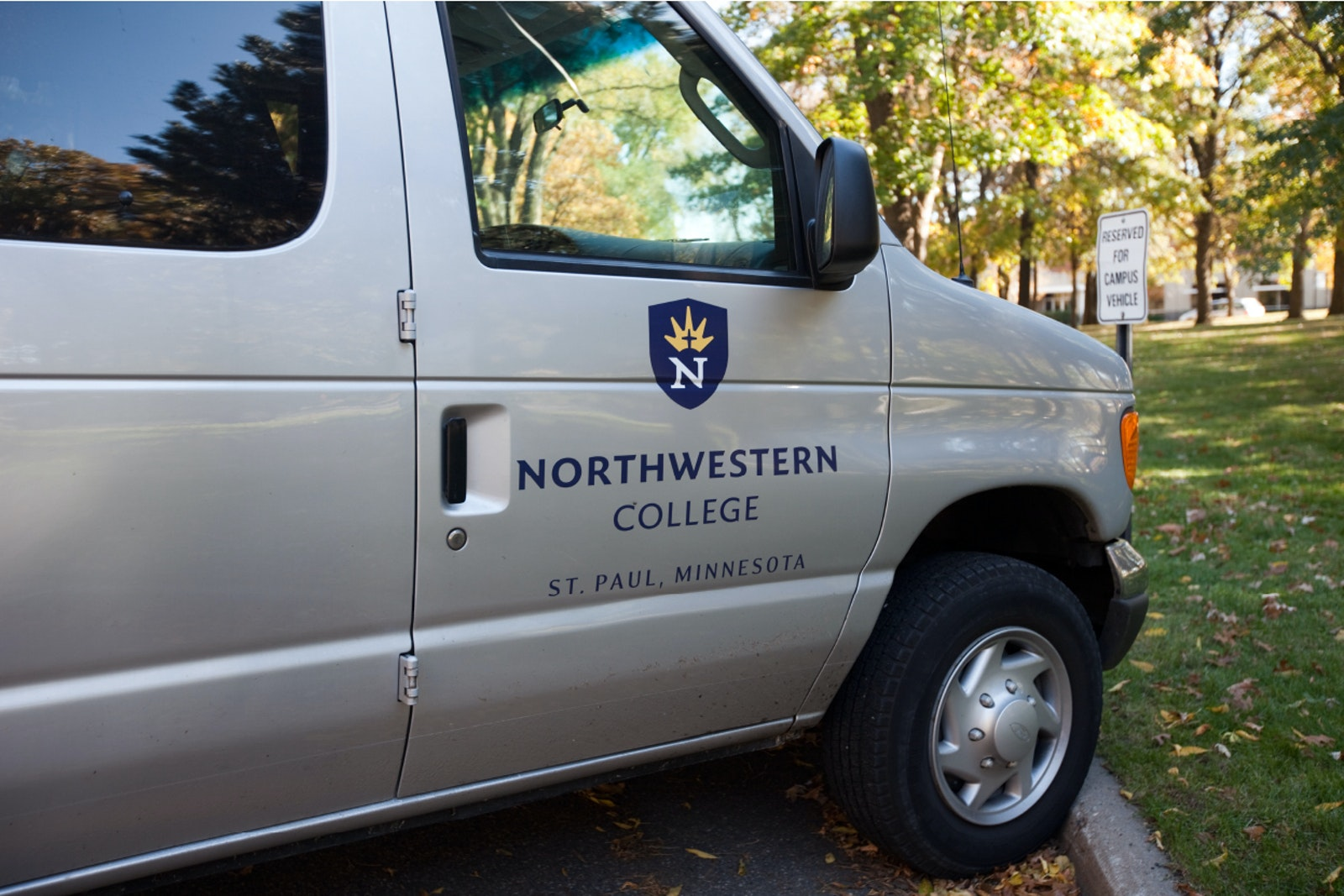 Northwestern van
