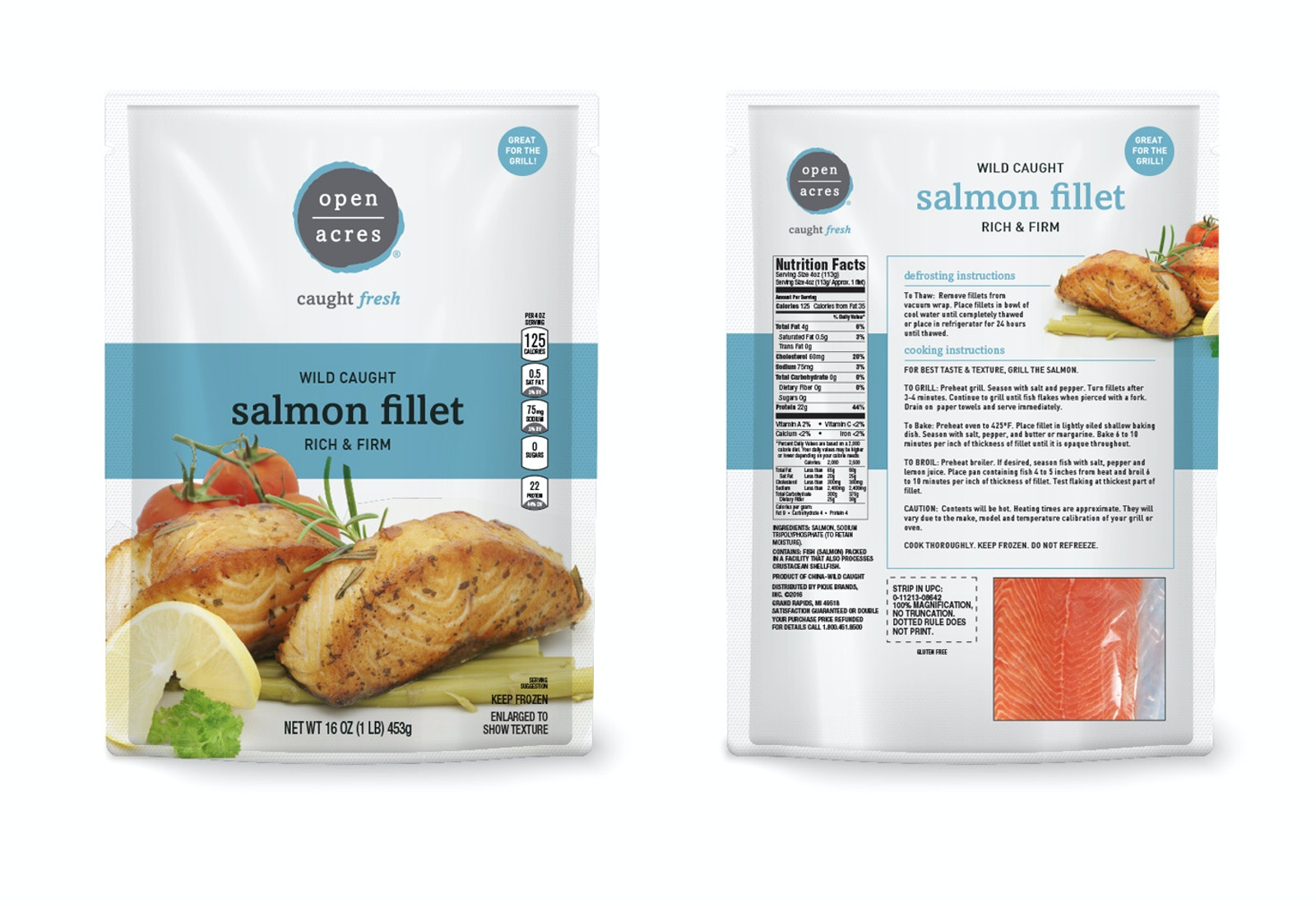 Open Acres Salmon