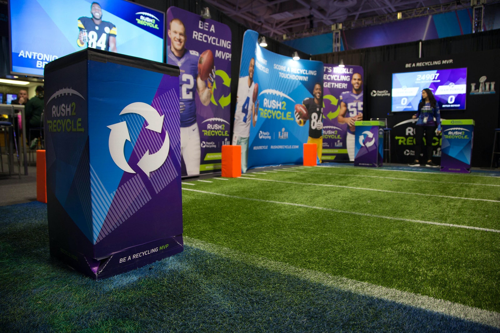Rush2 Recycle NFL Experience