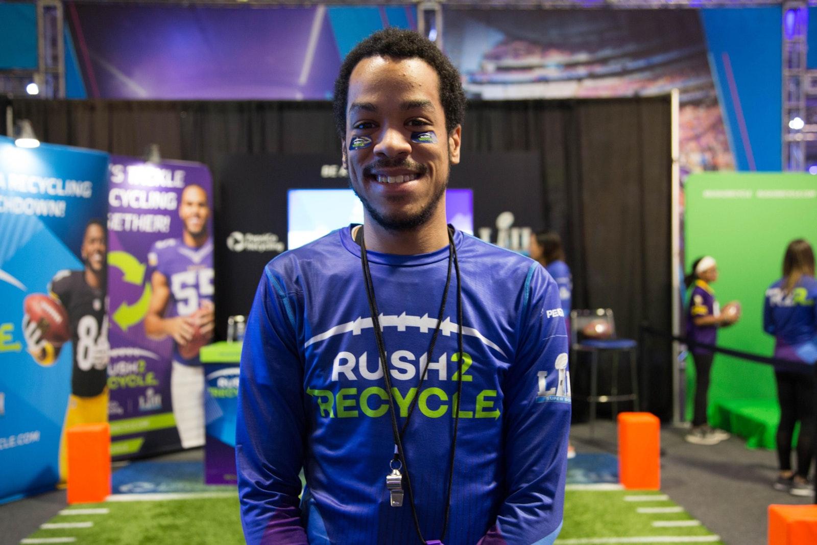 Rush2 Recycle Shirt