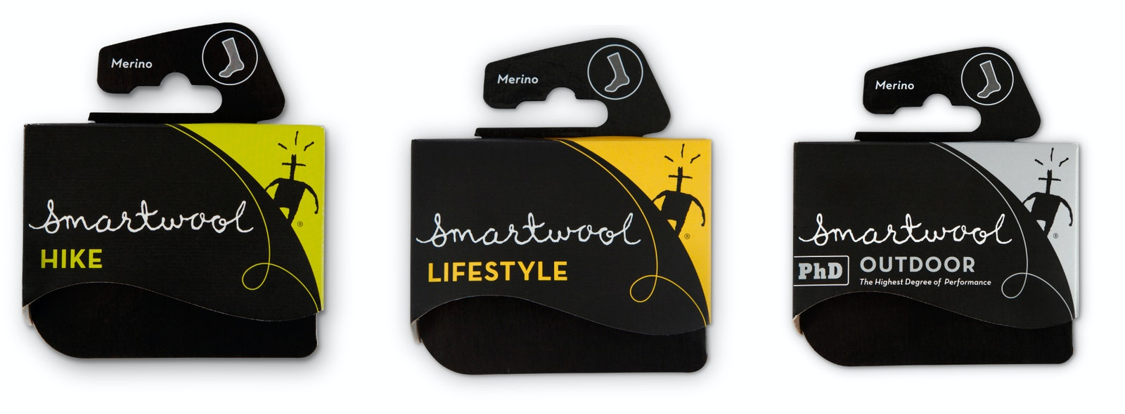 Smartwool covers three
