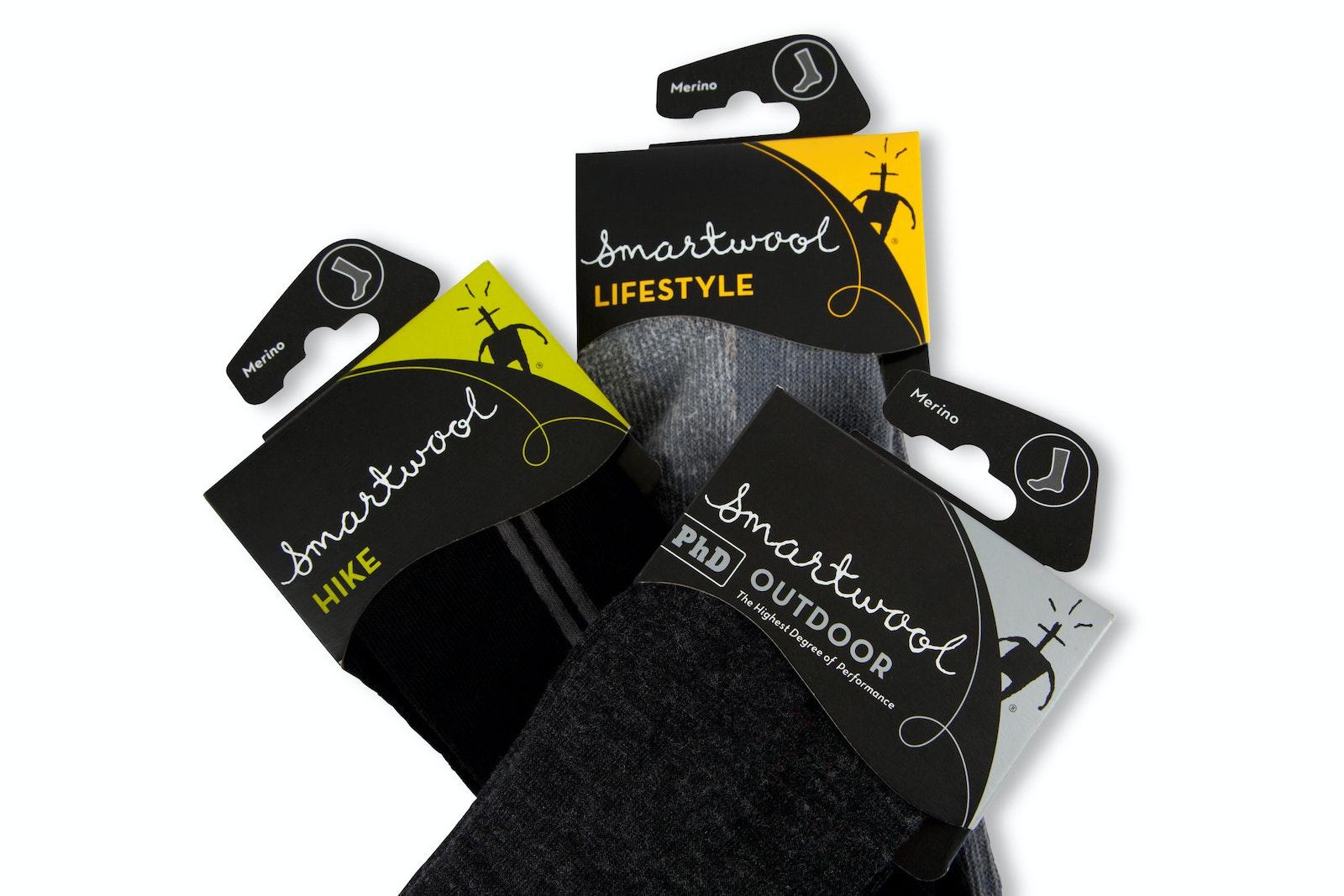 Smartwool socks three close