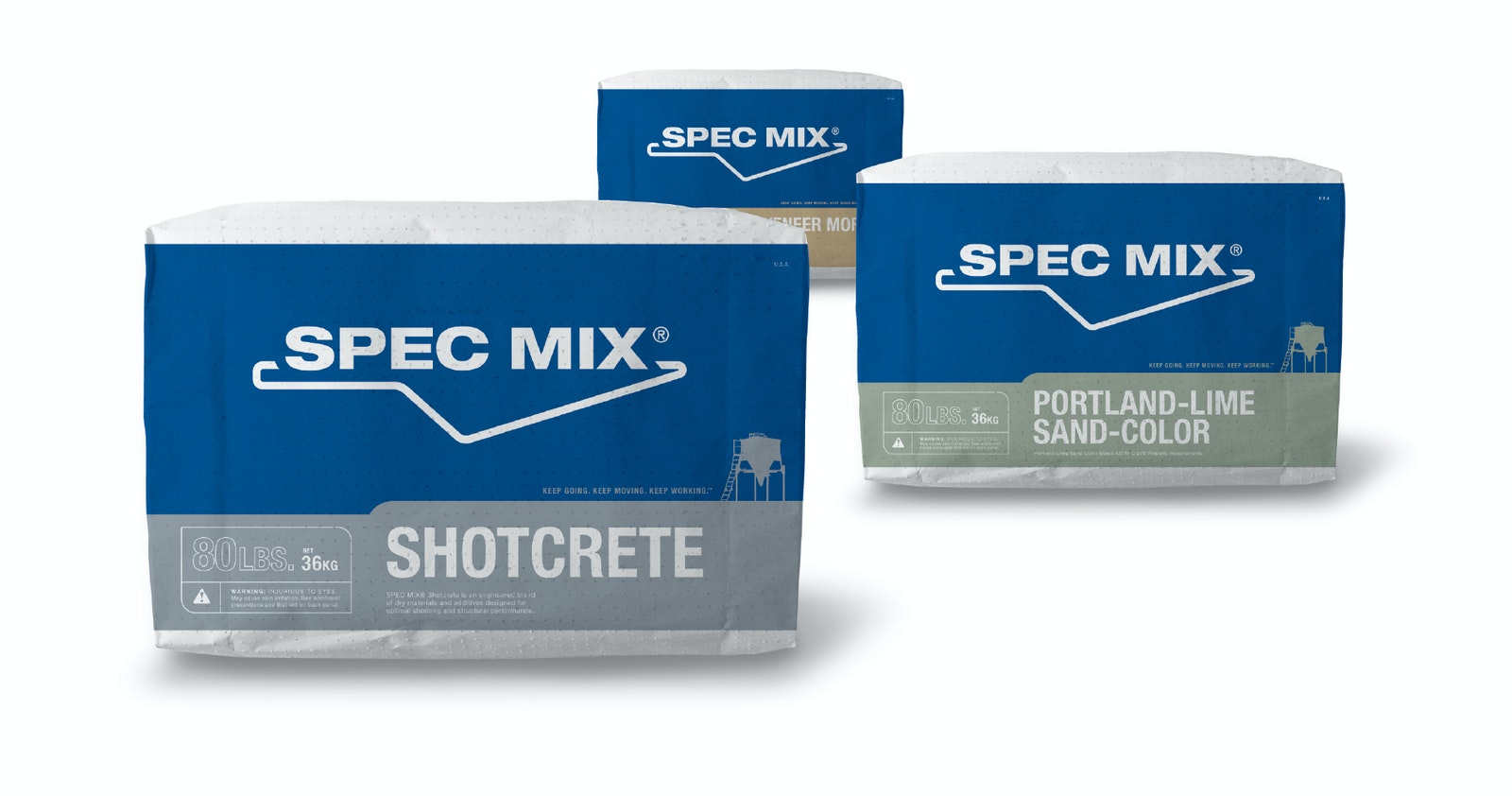 Specmix bags outline