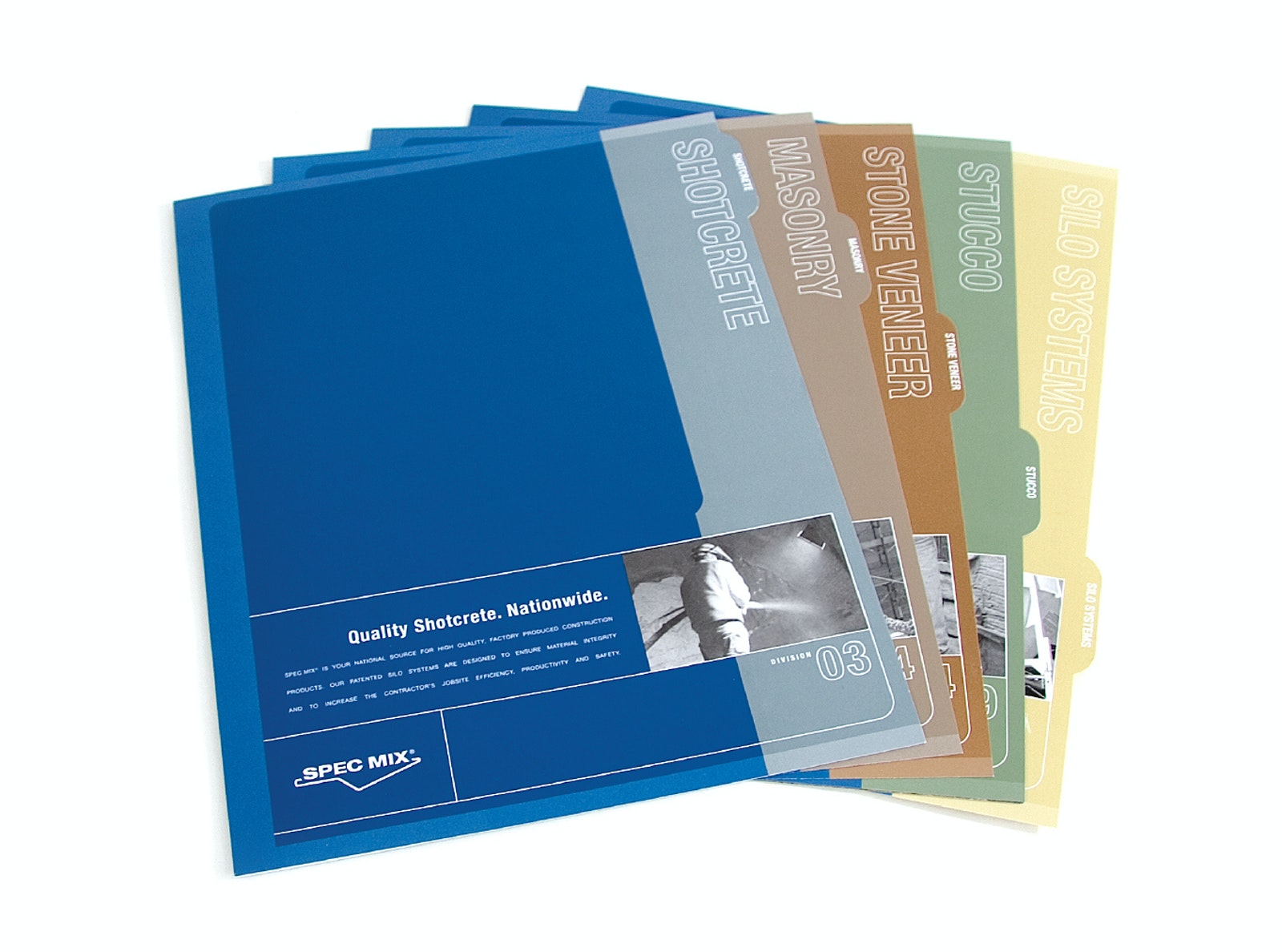 Specmix folders