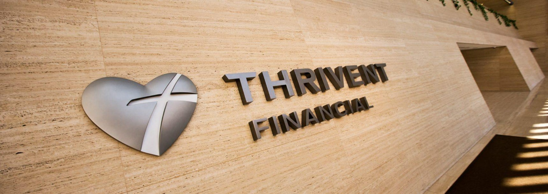 Thrivent signage A