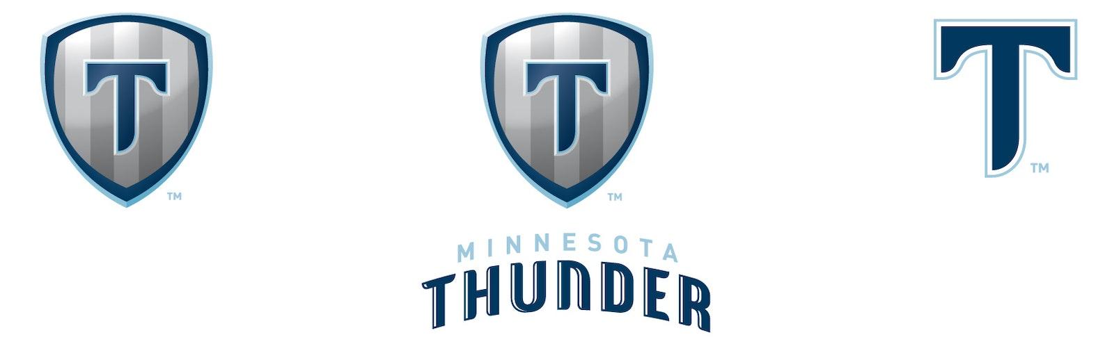 Thunder logo three