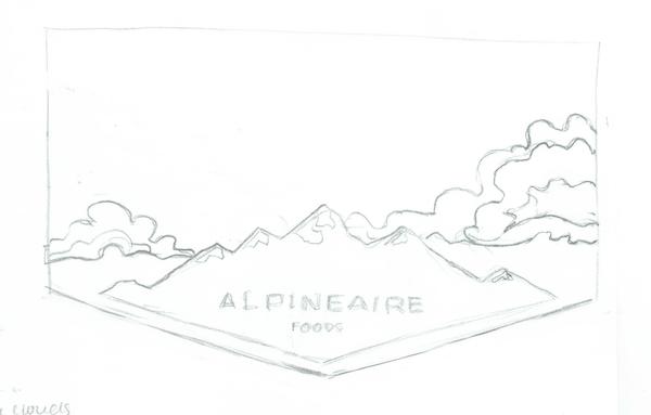 Mountain sketch 01